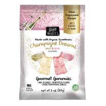 Project 7 Natural Gourmet Gummies – Champagne Dreams Gummy Bears – Organic Sweeteners, Gluten-Free, Non-GMO, Made in The USA, No Artificial Colors, Flavors or Preservatives – 16 Packs (2oz pouches)