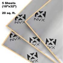 NVX Car Sound Deadening Kit [20 sq feet 5-Sheet Bulk Pack] for Trunk [SDTK20]