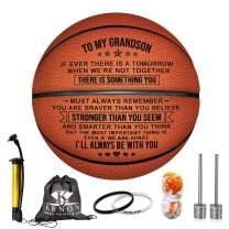 Kenon Engraved 29.5 Inch Basketball for Son - Personalized Basketball Indoor/Outdoor Game Ball for Son - You Will Never Lose Encouragement Gift for Graduation Birthday Christmas