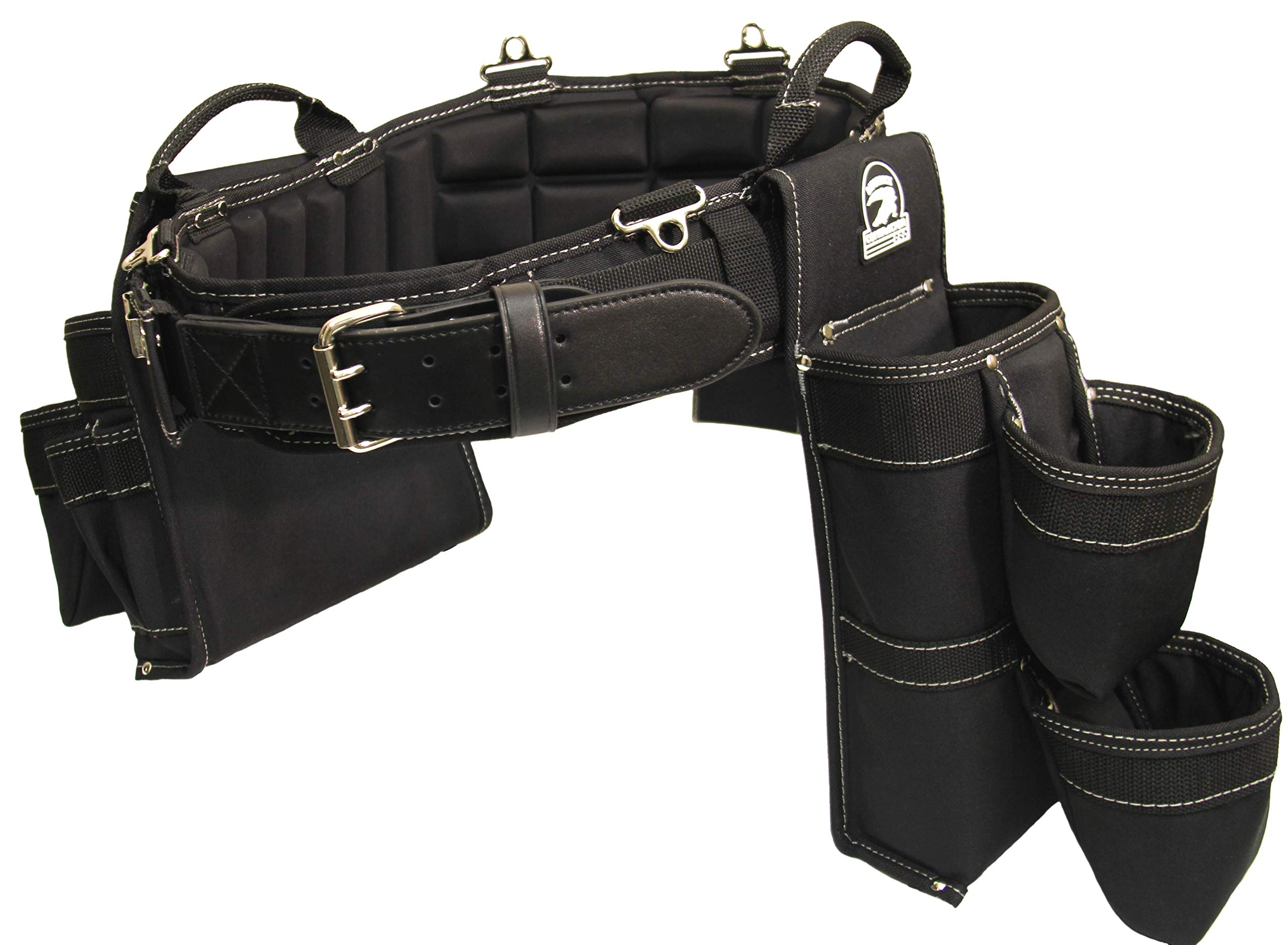 """GatorBack B340 Concrete/Foundation Setter Tool Belt Combo. Made Specifically for Foundation Ties and Concrete Accessories (Small 26""""-30"""" Waist)"""