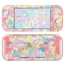 DLseego Switch Lite Skin Sticker Pretty Pattern Full Wrap Skin Protective Film Sticker Compatible with Nintendo Switch Lite--Party