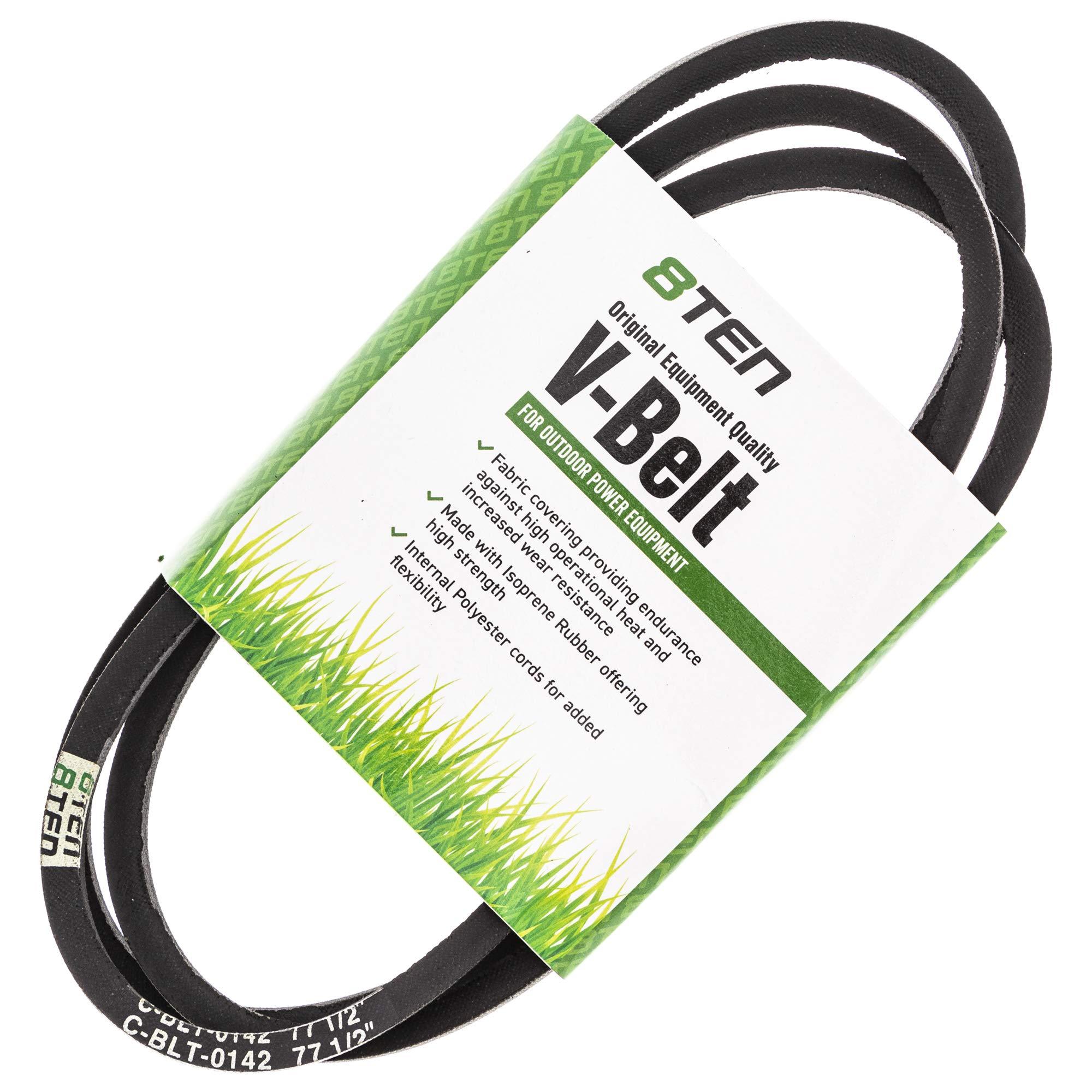 8TEN Deck Belt for Cub Cadet MTD 954-04062 754-04062 LT3800 13AM762F031 13A1762F029 13AM79GF897 38 inch Deck