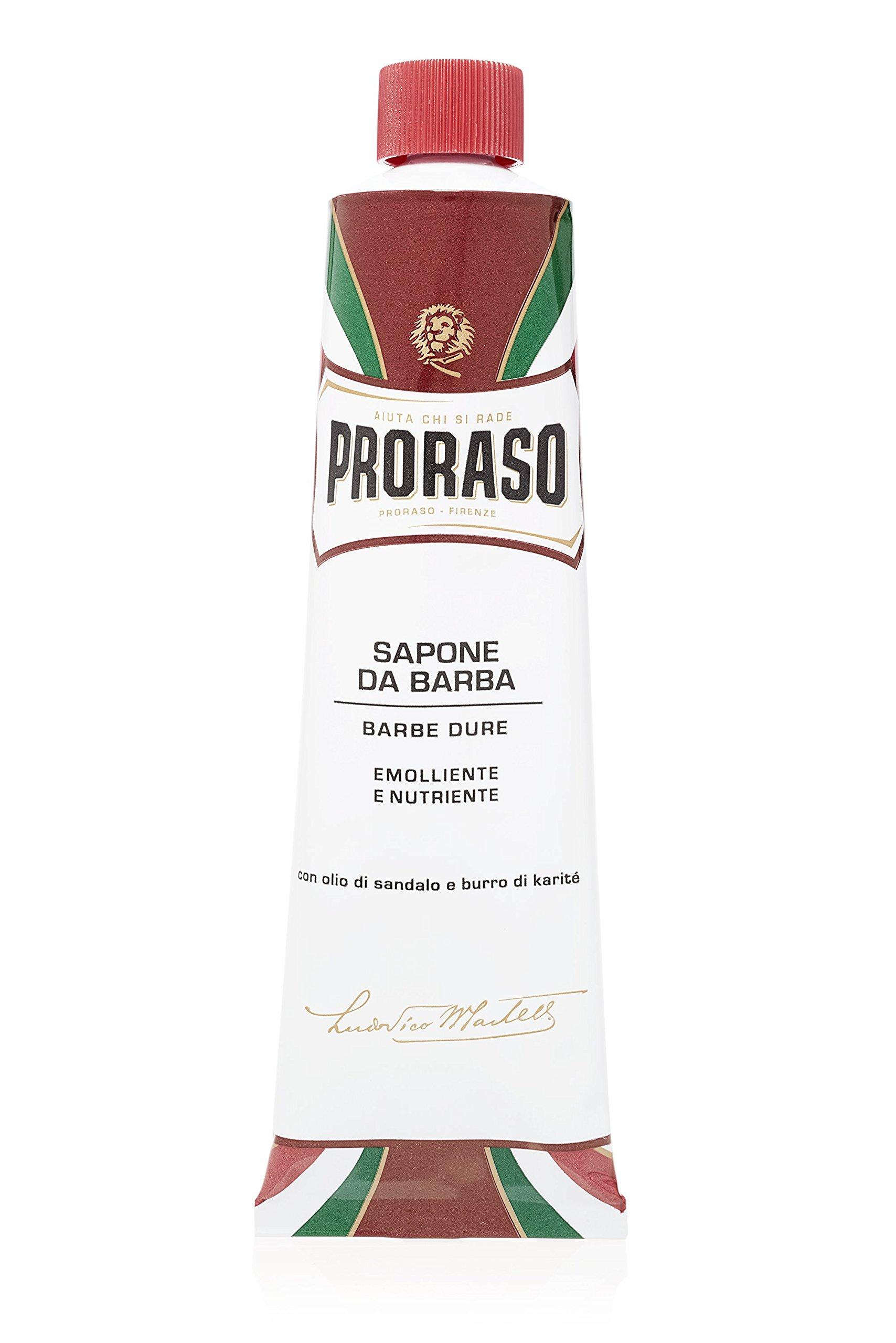 Proraso Shaving Cream, Moisturizing and Nourishing, 5.2 oz