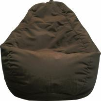 Gold Medal Bean Bags Gold Medal Microsuede Bean Bag, Medium, Walnut Brown