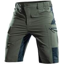 Cycorld-Men's-Hiking-Shorts-Outdoor-Mountain-Bike-MTB-Shorts-Mens Quick Dry Lightweight for Climbing Camping