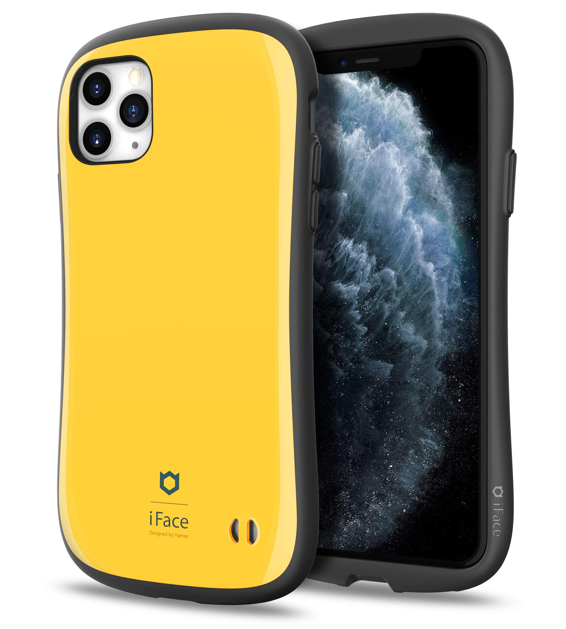 iFace First Class Series iPhone 11 Pro Max Case – Cute Dual Layer [TPU and Polycarbonate] Hybrid Shockproof Protective Cover for Women [Drop Tested] - Yellow