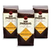 Don Francisco's Ground Hawaiian Hazelnut Flavored Coffee (3 x 12-ounce bags)