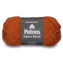 Patons  Alpaca Blend Yarn - (5) Bulky Gauge  - 3.5oz -  Yam -  Machine Washable  For Crochet, Knitting & Crafting