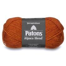 Patons  Alpaca Blend Yarn - (5) Bulky Gauge  - 3.5oz -  Yam -  Machine Washable  For Crochet, Knitting & Crafting