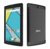 "Plum Optimax 12-4G Tablet Phone Phablet GSM Unlocked 7"" Display Android Dual Camera ATT Tmobile Metro Cricket Net10 Mint Straight Talk Walmart Mobile Consumer Cellular"