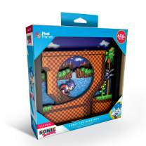 Pixel Frames Sonic The Hedgehog Loop Scene 6x6 inches Shadow Box Art (Small), (Model: PF-SGA-101)