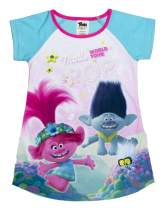 DreamWorks Trolls World Tour Nightgown Pajama,Poppy and Branch Pajama,Bedtime Dress Trolls Movie PJ, Toddler Size 2T to 5T