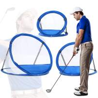 Tri Great USA CORP Golf Net Practice Equipment, Training Gear & Aids | Home, Office Sport Games, Gifts for Husband/Boyfriend (3-Pc. Combo Set)
