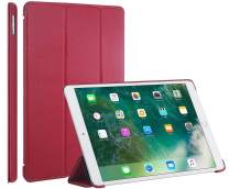 StilGut iPad 10.5 Case, Leather Flip Cover with Stand Function and Auto Sleep Wake Feature for Apple iPad Pro 10.5 Inch, Red