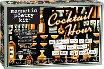 Magnetic Poetry - Cocktail Hour Kit - Words for Refrigerator - Write Poems and Letters on the Fridge - Made in the USA