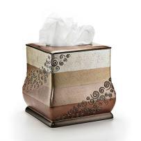 Popular Bath Tissue Box, Miramar Collection, Multicolor