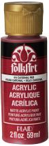 FolkArt Acrylic Paint in Assorted Colors (2 oz), 414, Cardinal Red