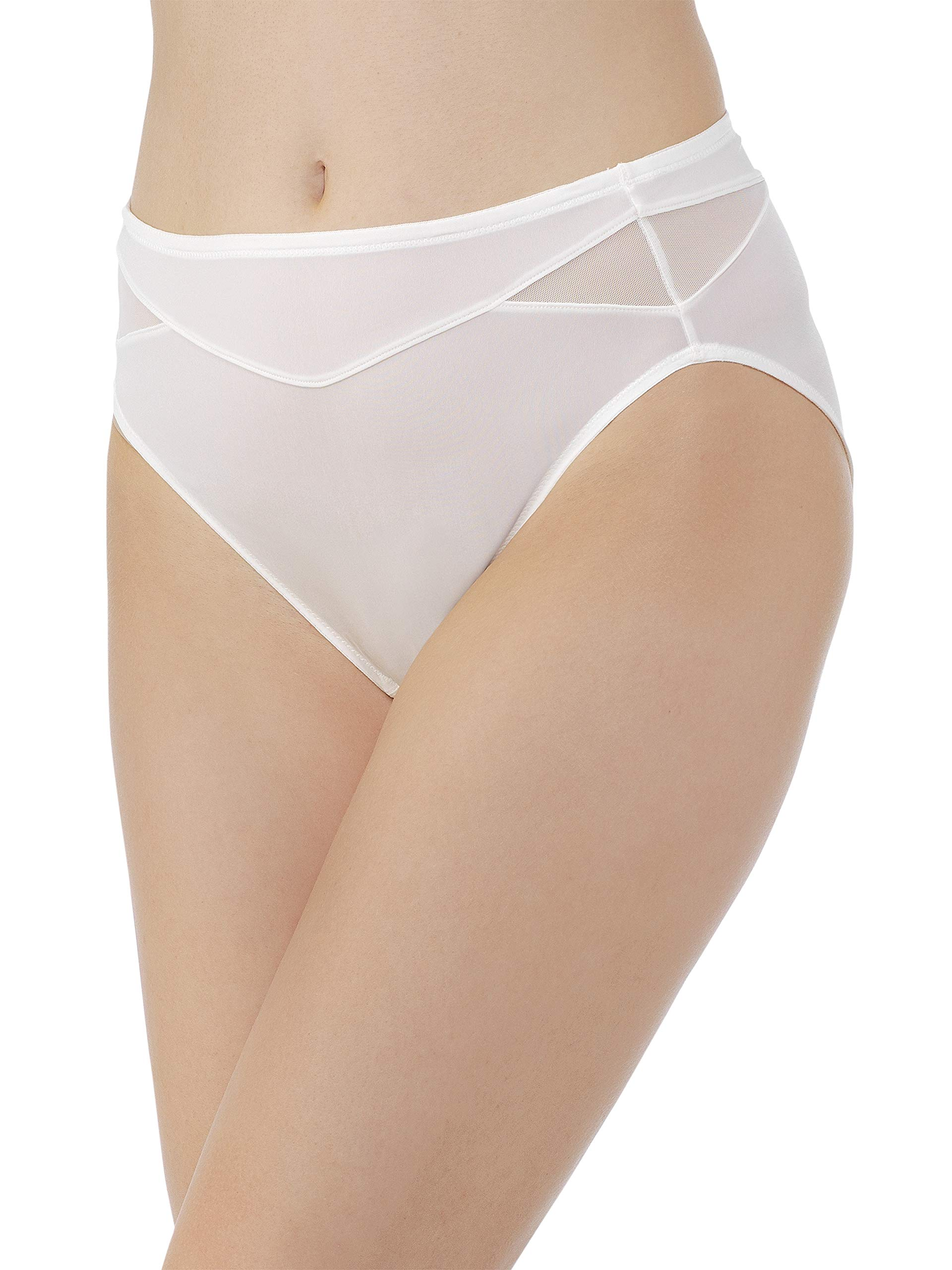 Vanity Fair Women's Breathable Luxe Hi Cut Panty 13185