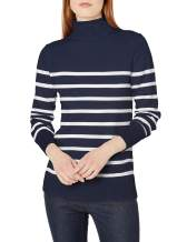 Amazon Essentials Women's Long-Sleeve 100% Cotton Roll Neck Sweater