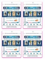 On The Go Towels Citrus Refresh Large Body Wipes (40)