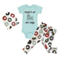 Fayfaire Funny Baby Bodysuit Outfit for Boys and Girls | Newborn Gender Neutral Baby Clothes |NB-12MO