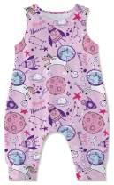 Kids4ever Newborn Baby Romper Dinosaur Shark Animal Jumpsuit Sleveless Bodysuit Summer Outfits for 3-24M Girls Boys