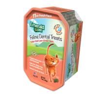 Emerald Pet Dental Crunchy Natural Grain Free Cat Treats, Made in USA