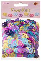 Fanci-Fetti Easter Eggs (C/GD/LB/PL) Party Accessory  (1 count) (1 Oz/Pkg)