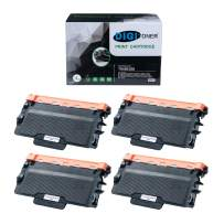 DIGITONER High Yield Toner Cartridge Compatible with Brother TN850 TN820 DCP-L5500DN/HL-L5000D/L5200DWT/L6200DW/L6250DW/L6300DW-L6400DW/L6400DWT/MFC-L5900DW/L6700DW/L6800DW/L6900DW [4 Pack]