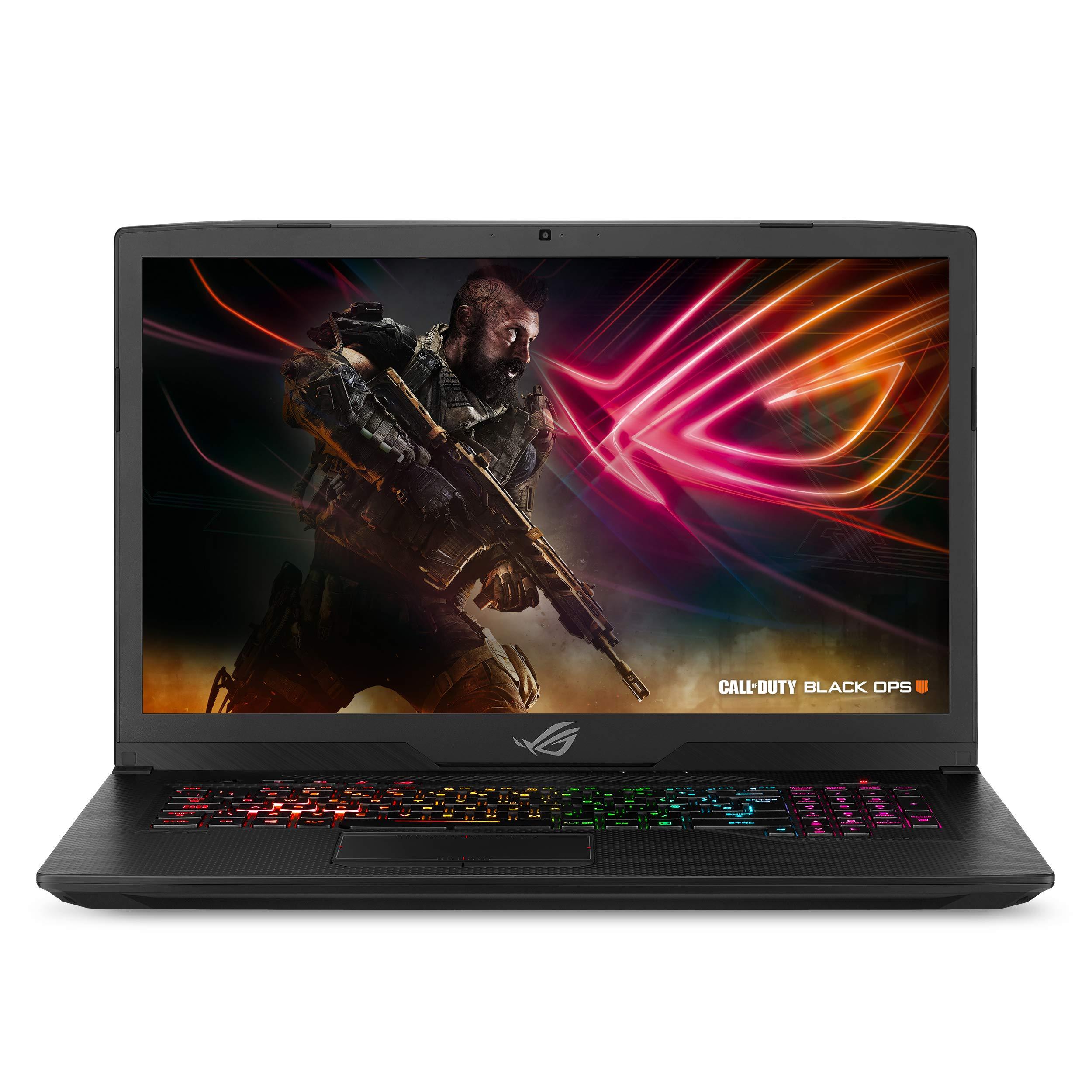 "ASUS ROG Strix Scar Edition Gaming Laptop, 17.3"" 120Hz 3ms Full HD, Intel Core i7-8750H Processor, NVIDIA GeForce GTX 1060 6GB, 16GB DDR4, 256GB PCIe SSD + 1TB FireCuda, Windows 10 - GL703GM-DS74"