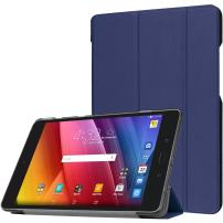 Procase Verizon ASUS ZenPad Z8s Case, Slim Stand Hard Shell Case Smart Cover for Asus Zenpad Z8s ZT582KL ASUS-P00J 4G LTE Tablet (2017 Released) -Navy