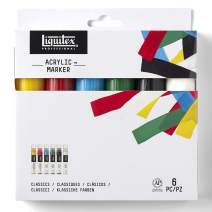 Liquitex 6-Piece Professional Paint Wide Marker Set