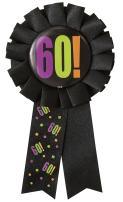 Birthday Cheer 60th Birthday Award Ribbon