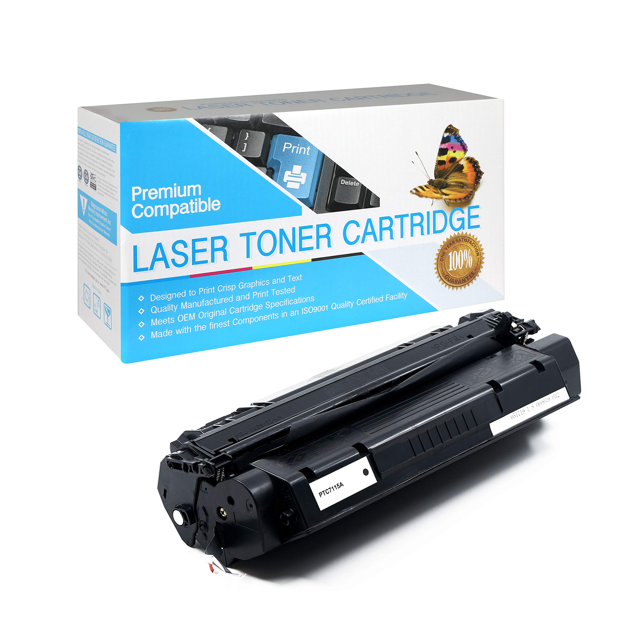 Black,1 Pack CF287A SuppliesOutlet Compatible Toner Cartridge Replacement for HP 87A