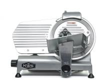 "KWS Commercial 320w Electric Meat Slicer 10"" Frozen Meat Deli Slicer Coffee Shop/restaurant and Home Use Low Noises (Stainless Steel Blade-Silver)"