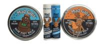 Mad Gab's 4-Piece Natural & Organic Citrus Moose & Bear Smooch Stick and Foot Balm Set
