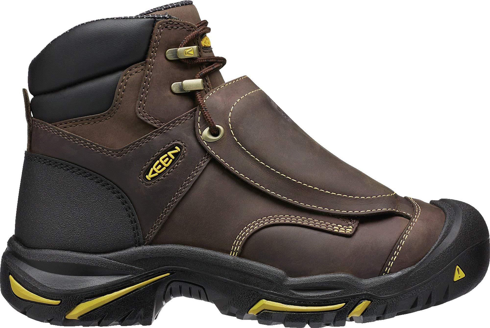 """KEEN Utility - Men's Mt Vernon 6"""" (Steel Toe) MET Work Boots"""
