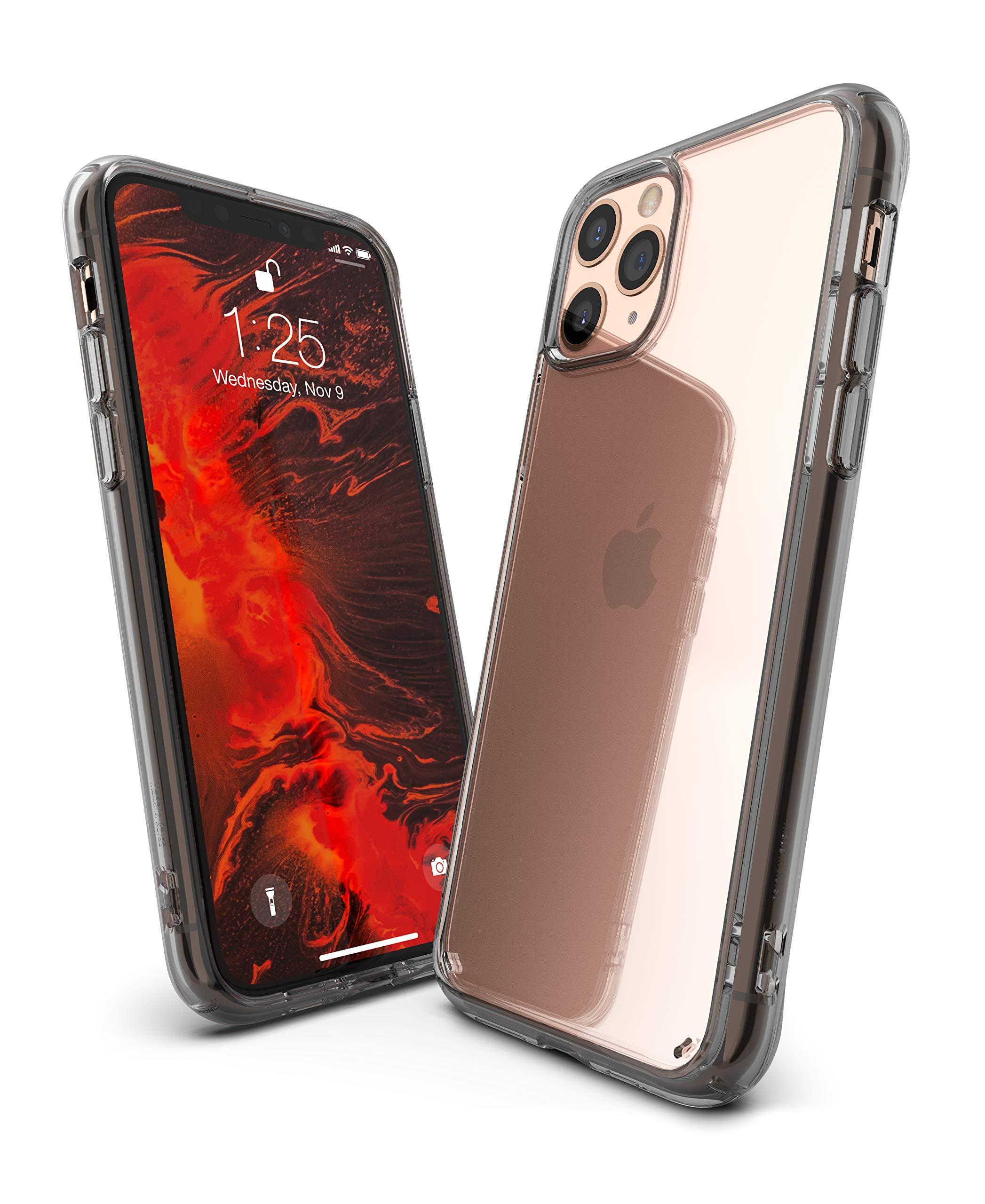 Ringke Fusion Designed for iPhone 11 Pro Max Case (2019) - Smoke Black
