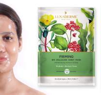 Biocellulose Firming Face Sheet Mask with Red Ginseng, Purslane, and Sea Kelp by LuxaDerme