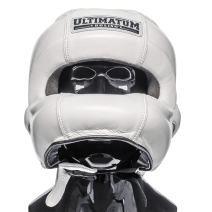 Ultimatum Boxing Professional Facebar Headgear Gen3FaceBar WhiteForce