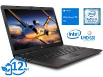"HP 250 G7 Laptop, 15.6"" HD Display, Intel Core i5-8265U Upto 3.9GHz, 8GB RAM, 256GB NVMe SSD + 1TB HDD, HDMI, Card Reader, Wi-Fi, Bluetooth, Windows 10 Pro"