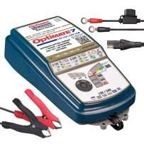 Tecmate Optimate 7 12V/24V, TM-261v3, Gold Series: 8-Step 12V 10A / 24V 5A Sealed Battery Saving Charger & maintainer