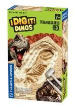 Thames & Kosmos I Dig It! Dinos T. Rex Excavation Science Experiment Kit   Excavate a Tyrannosaurus Rex Dig Site   Paleontology   Dinosaur Toy   Oppenheim Toy Portfolio Platinum Award Winner