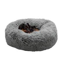 Furhaven Pet - Plush Sofa Orthopedic Dog Bed, L Shaped Chaise Dog Bed, Ergonomic Contour Cradle Lounger, Calming Donut Dog Bed, and More for Dogs and Cats - Multiple Sizes, Styles, and Colors