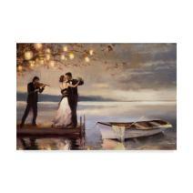 Twilight Romance by Steve Henderson, 30x47-Inch
