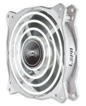 LEPA Chopper Advance 120mm High Performance LED PC Case Fan, White - LPCPA12P-W