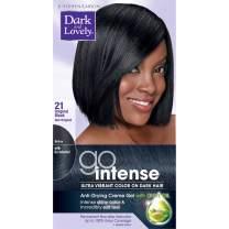 SoftSheen-Carson Dark and Lovely Go Intense Ultra Vibrant Color on Dark Hair, Original Black 21 (Packaging May Vary)