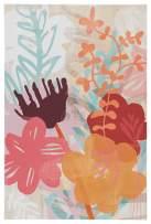 Ashley Furniture Signature Design - Patli Floral Wall Art - Youth - Multi-Color