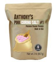 Anthony's Pink Curing Salt No.1, 2 lb, Quick Cure Prague Powder