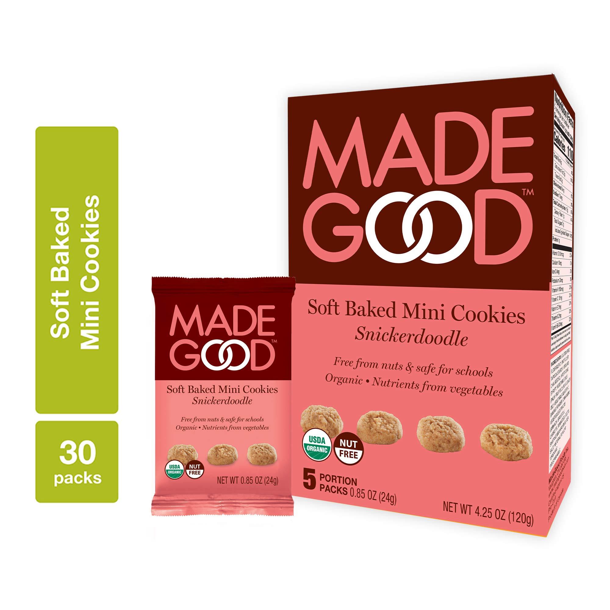 MadeGood Soft-Baked Cookies (Snickerdoodle)